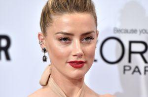 Amber Heard : Émue et glamour pour sa 1ere apparition publique depuis le divorce