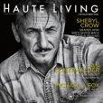 """Sean Penn en couverture du magazine """"Haute Living"""" (édition novembre / décembre 2016)"""