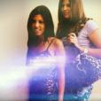 Khloé Kardashian et sa soeur Kourtney adolescentes. Image extraite d'une vidéo publiée sur Youtube, le 16 novembre 2016