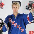 Justin Bieber lors de la soirée des iHeartRadio Music Awards à Inglewood, le 3 avril 2016