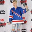 Justin Bieber lors de la soirée des iHeartRadio Music Awards à Inglewood, le 3 avril 2016.