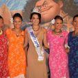 """Vaea Ferrand (Miss Tahiti 2016) - Avant-première du film d'animation """"Vaiana, la légende du bout du monde"""" au Cinéma le Grand Rex à Paris, France, le 15 novembre 2016. © Veeren/Bestimage"""