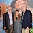 """Ron Clements, John Musker et Osnat Shurer - Avant-première du film d'animation """"Vaiana, la légende du bout du monde"""" au Cinéma le Grand Rex à Paris, France, le 15 novembre 2016. © Veeren/Bestimage"""