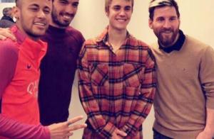 Justin Bieber en tournée : Son improbable rencontre avec Neymar et Lionel Messi