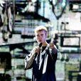 """Justin Bieber en concert à Amsterdam dans la cadre de sa tournée """"Purpose World Tour"""", le 8 octobre 2016."""