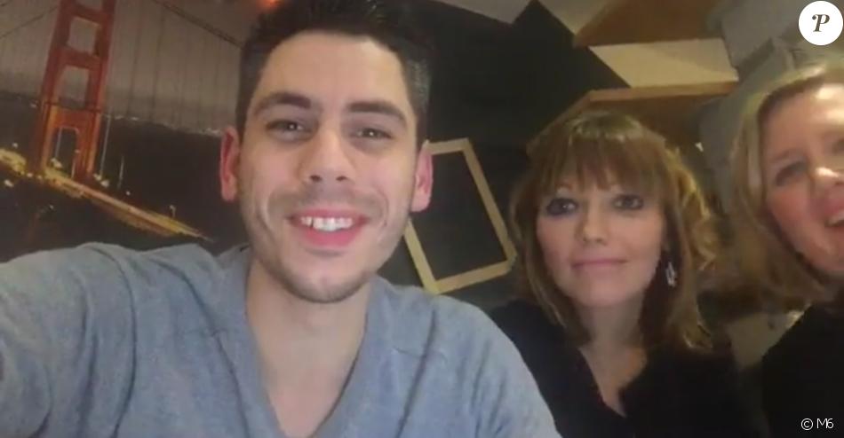 """Nathalie et Benoît de l'émission """"Mariés au premier regard"""" sur M6. Novembre 2016."""