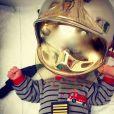 Bixente, petit pompier bien courageux.