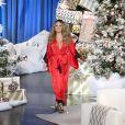 "Mariah Carey invitée du ""EllenDeGeneres Show"" le 23 novembre 2016."