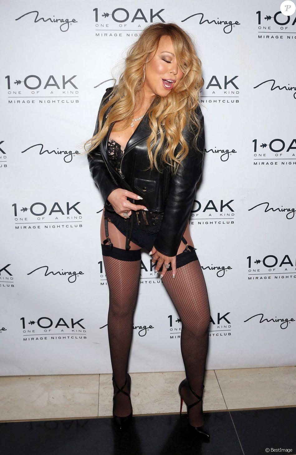 Mariah carey en porte jarretelles lors de la soir e 1 oak - Photos de femmes en porte jarretelles ...
