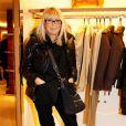 Mireille Darc à la soirée Tod's ''shopping de noël'', le 11/12/08