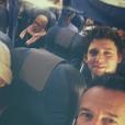 """Joyce Jonathan en route pour la Colombie pour le tournage d'""""A la roots"""", émission de RTL9. Photo Instagram publiée en novembre 2016."""