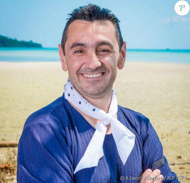 """Stéphane, candidat de """"Koh Lanta : L'île au trésor""""."""