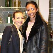 Lorie Pester et Flora Coquerel : Une inauguration de charme pour Caron