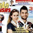 """Couverture du """"Télé Loisirs"""" en kiosques le 5 décembre 2016."""