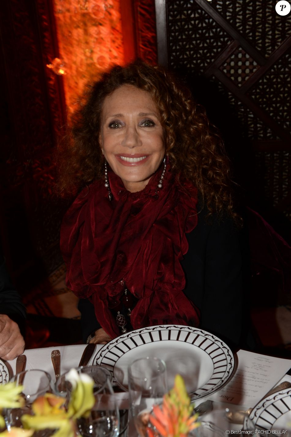 marisa berenson soir e dior dans le cadre du de la 16 me dition du festival international du. Black Bedroom Furniture Sets. Home Design Ideas