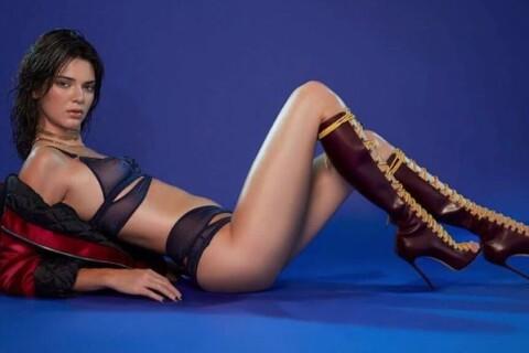 Kendall Jenner : Torride en lingerie pour le calendrier LOVE