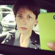 Sophie Marceau se montre sans maquillage sur Instagram en avril 2016.