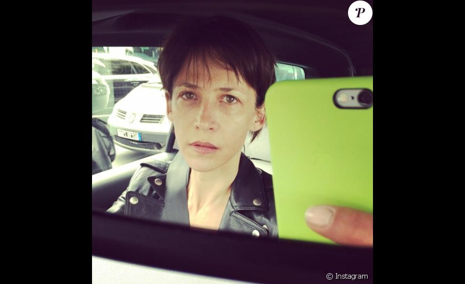 Sophie marceau se montre sans maquillage sur instagram en avril 2016 - Sophie davant sans maquillage ...