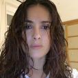 Salma Hayek se montre sans maquillage sur Instagram en 2016.