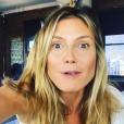 Heidi Klum se montre sans maquillage sur Instagram en novembre 2016.