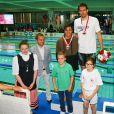 Camille Lacourt remporte le 50m homme aux finales du Mare Nostrum, le XXXIVeme meeting international de natation de Monte Carlo à la piscine du Stade Louis II le 5 juin 2016. © Olivier Huitel / Pool Monaco / Bestimage