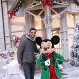 Florent Manaudou au Noël de Disneyland Paris. Le 9 novembre 2016 © Disneyland Paris via Bestimage