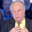 """Frédéric Mitterrand très ému en parlant du suicide de Dalida. Emission """"Salut les Terriens !"""" sur C8, le 10 décembre 2016."""