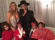"""Beyoncé et Blue Ivy avec Mariah Carey et ses jumeaux: Une """"belle famille"""""""