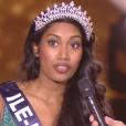 Miss Île-de-France 2016 : Meggy Pyaneeandee -  Les 12 demi-finalistes du concours Miss France 2017. Sur TF1, le 17 décembre 2016.