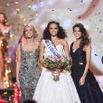 La Miss Guyane, Alicia Aylies, est élue Miss France 2017 - Concours Miss France 2017. Sur TF1, le 17 décembre 2016.