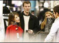 PHOTOS EXCLUSIVES : La princesse Marie, enceinte, et le prince Joachim de Danemark : pour eux aussi, c'est l'heure du... shopping de Noël ! (réactualisé)