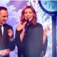 Laurence Boccolini, Nikos Aliagas et Sandrine Quétier chantent All I Want For Christmas is You dans le clip de fin d'année de TF1