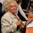 """Bernadette Chirac - 12ème édition du """"BGC Charity Day"""" à Paris, le 12 septembre 2016, en mémoire aux 658 collaborateurs du groupe BGC Partners (leader mondial du courtage interbancaire) disparus il y a 15 ans dans les attentats du World Trade Center du 11 septembre 2001."""