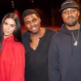 """Kim Kardashian et Kanye West ont emmené leur fille North aller voir le ballet """" The Nutcracker"""", à Los Angeles, le 23 décembre 2016."""