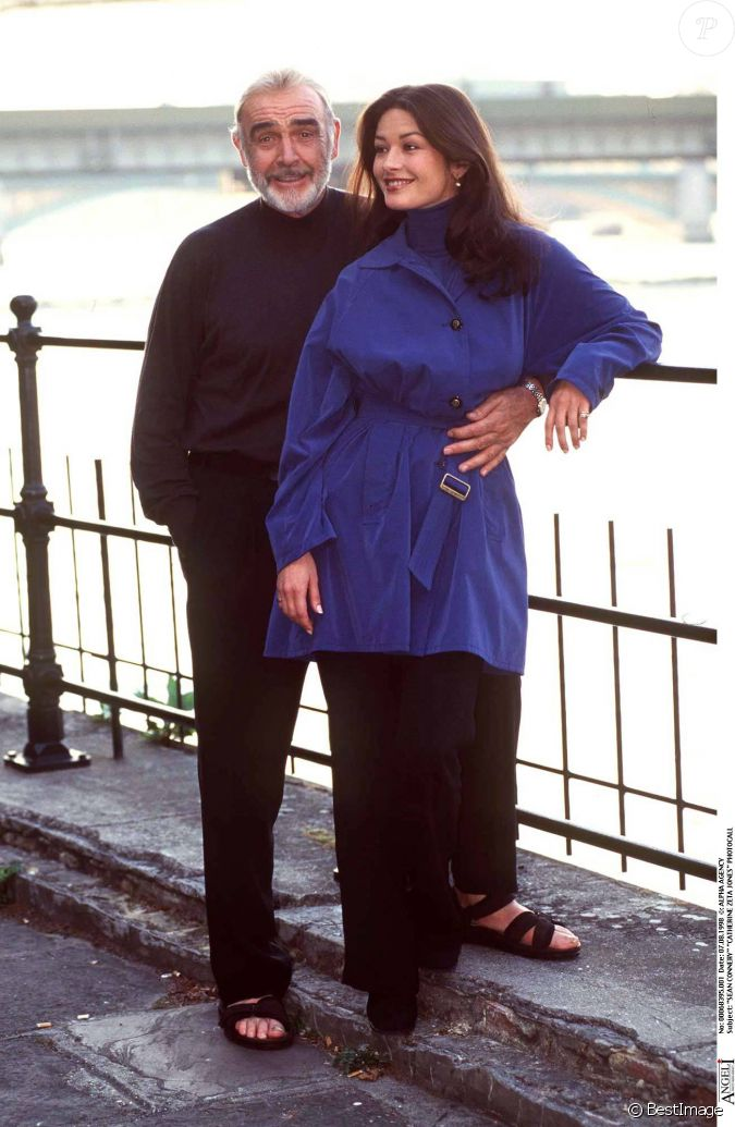 catherine zeta jones and sean connery dating
