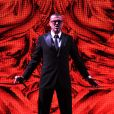 """""""George Michael en concert à Amsterdam le 14 septembre 2012 lors de sa dernière tournée, avec l'album Symphonica."""""""