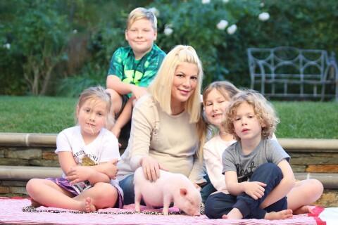 Tori Spelling accueille une petite nouvelle dans la famille...