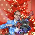 """Jarry - Enregistrement de l'émission """"Vivement Dimanche"""" à Paris le 21 décembre 2015. © Coadic Guirec / Bestimage"""