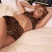 Georgia May Jagger en pyjama et lingerie : Journée au lit pour la bombe