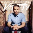 Ryan Reynolds en couverture de Variety.