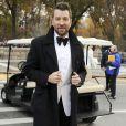 "Brett Eldredge lors de la parade ""Macy's Thanksgiving Day"" à New York, le 24 novembre 2016."