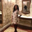Jewel, la femme de JR Smith lors de sa grossesse. Photo publiée sur Instagram au mois de novembre 2016