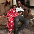 J.R. Smith et ses deux filles pendant les vacances de Noël. Photo publiée sur Instagram au mois de décembre 2016