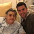 Pierre Ménès donne de ses nouvelles sur Twitter après son opération, le 18 décembre 2016.
