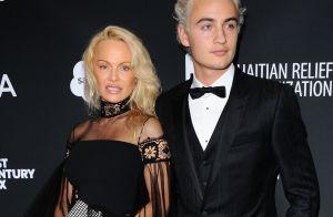Pamela Anderson : Apparition chic pour Sean Penn, avec son fils Brandon changé