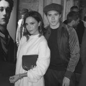 Fashion Week : Victoria et Brooklyn Beckham soutiennent David, icône adulée