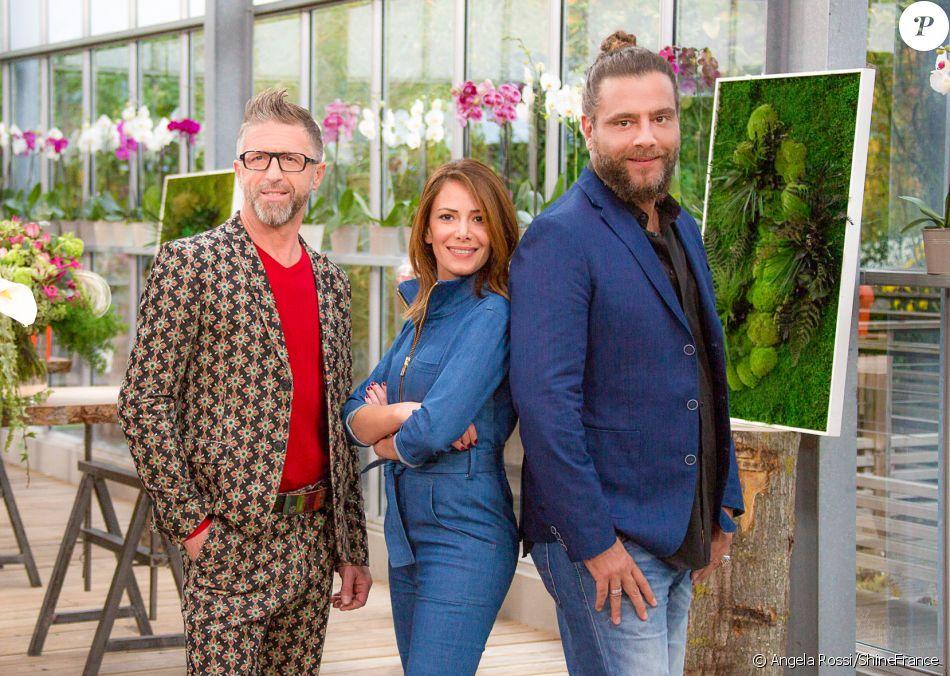 """Gilles Pavan, Elsa Fayer,  Djordje Varda - """"C'est le bouquet"""", à partir du 28 janvier 2017 sur TF1"""