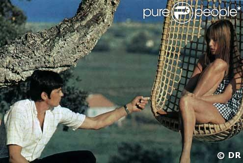 Alain delon et jane birkin dans la piscine de jacques deray 1968 - La piscine jacques deray ...