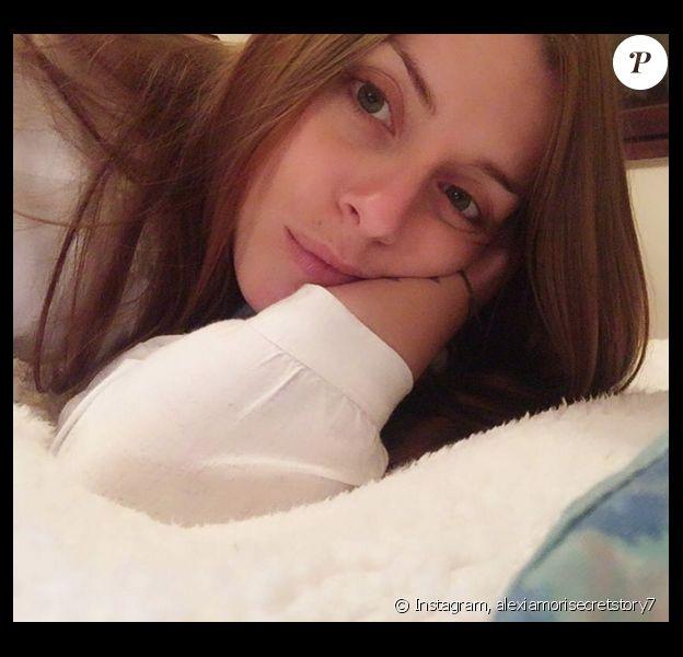 Alexia (SS7) la veille de son opération des dents de sagesse, le 23 mars 2016 sur Instagram.