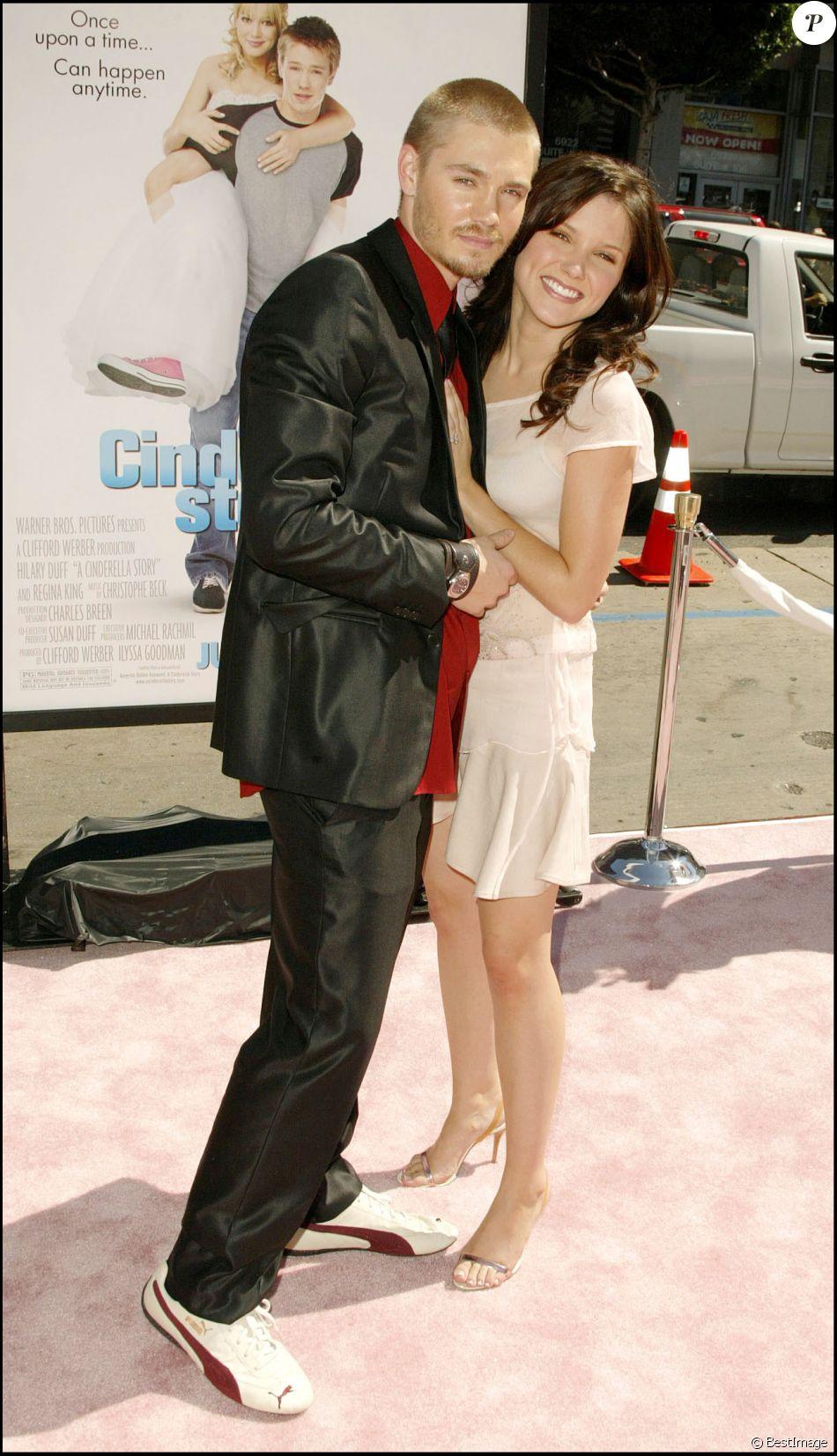 Sophia Bush et Chad Michael Murray à la première du film A Cinderella Story à Los Angeles, le 11 juillet 2004